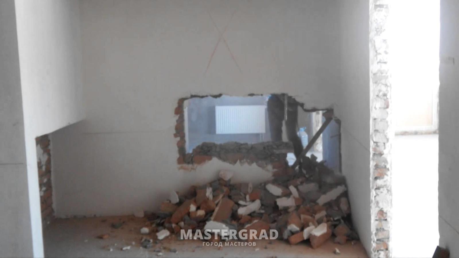Слом стен своими руками