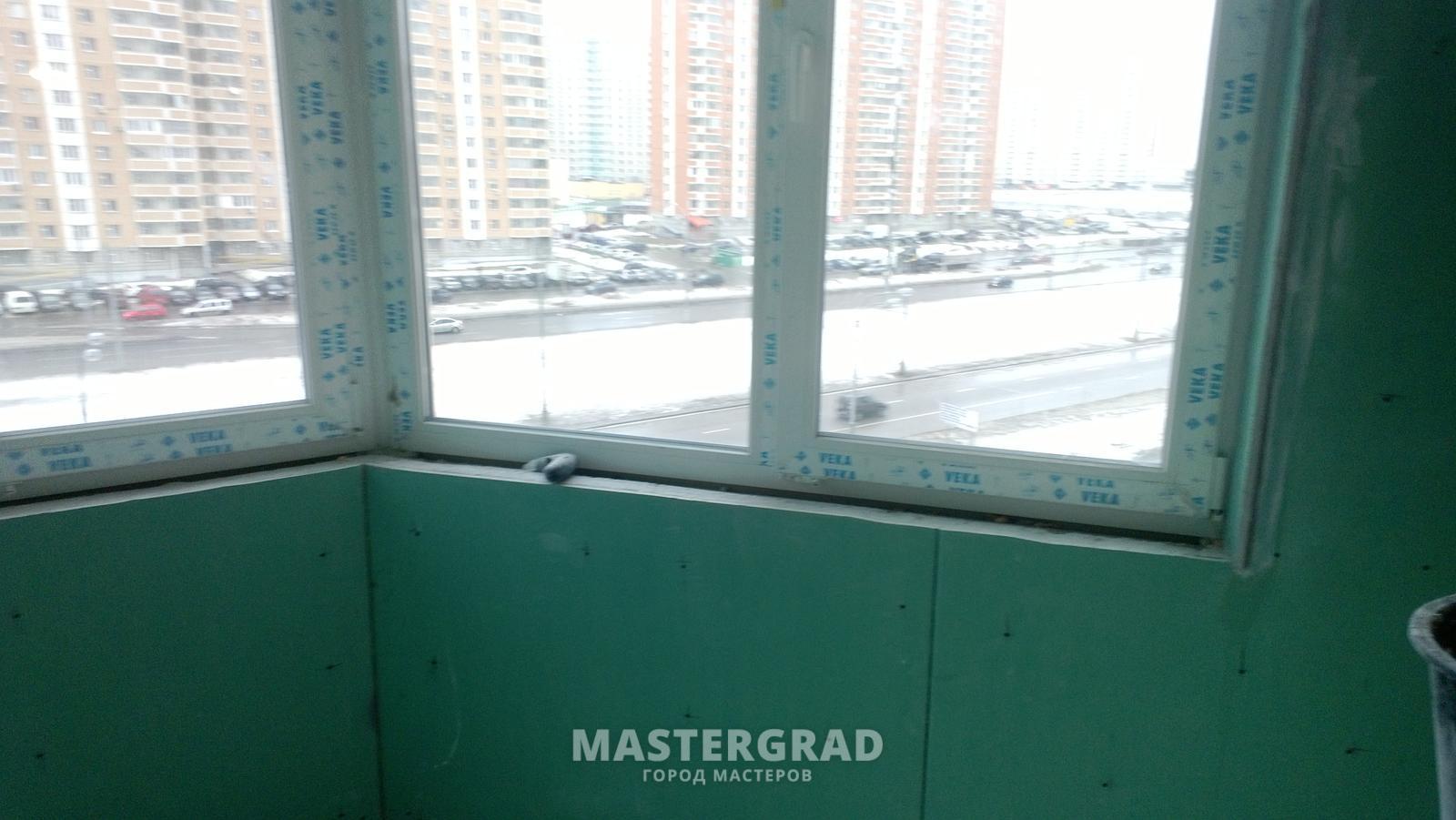 Утепление балконов и лоджий, монтаж гкл. купить за 20000 руб.