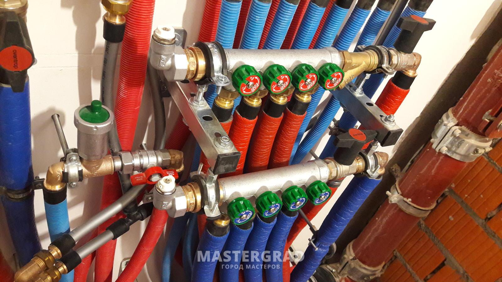 Монтаж труб из сшитого полиэтилена своими руками: способы 61