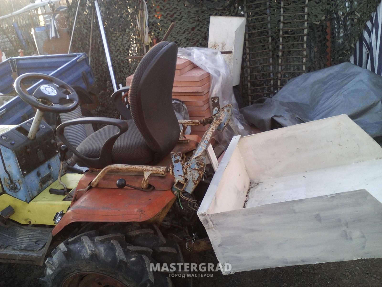 Задние колеса трактора Т-25 :: Трактор Т-25
