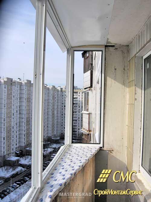 П 44т перестеклить балкон.