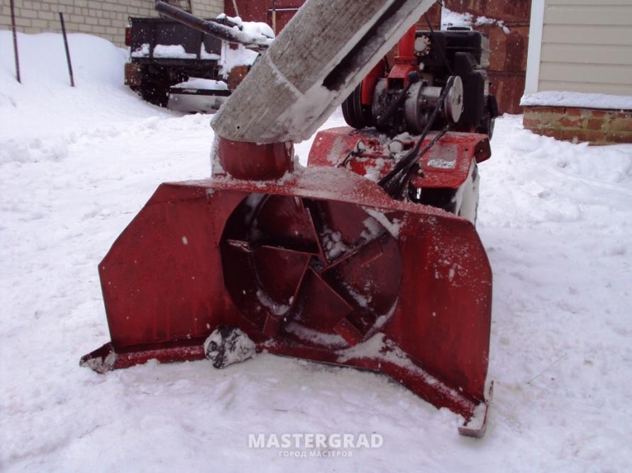Самодельный снегоуборщик к мотоблоку своими руками