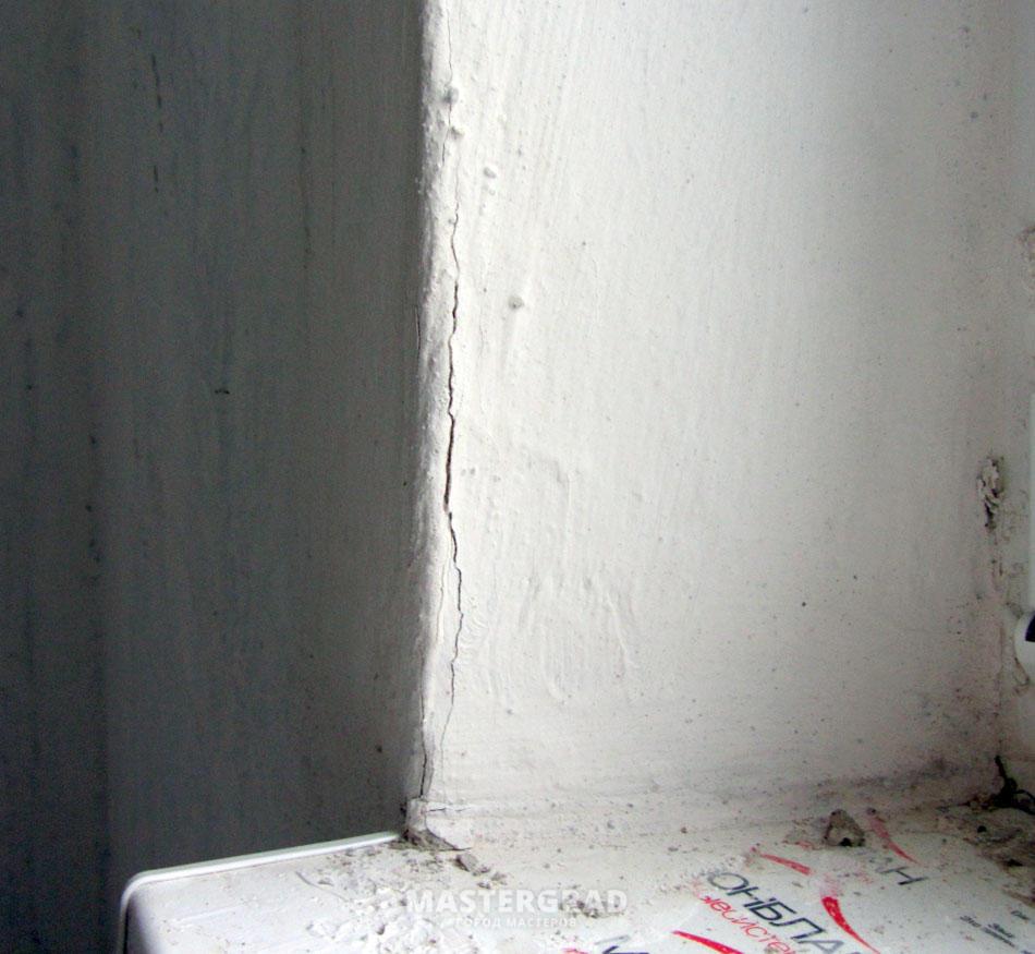 Заделка швов плит в панельных домах