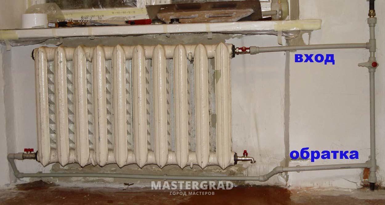 Обменять старые чугунные радиаторы на восстановленные