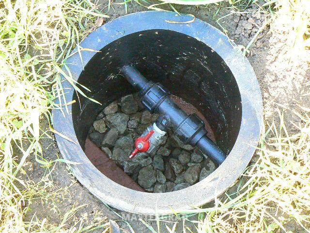 Водопровод из пнд своими руками на даче