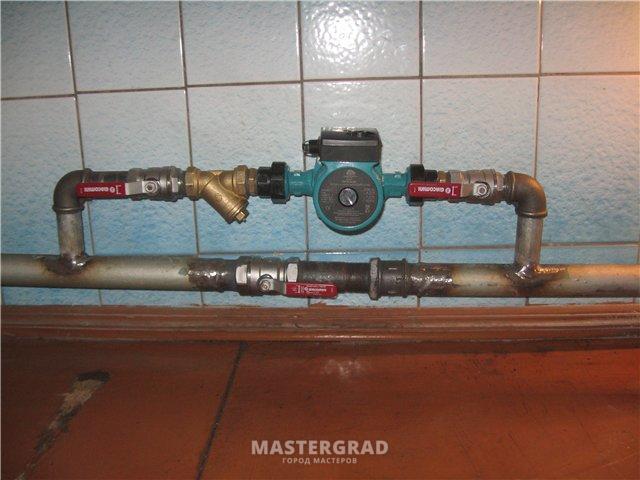 Термостат для циркуляционного насоса отопления своими руками