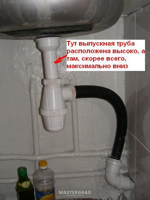 Как правильно сделать слив в ванной плохо уходит вода