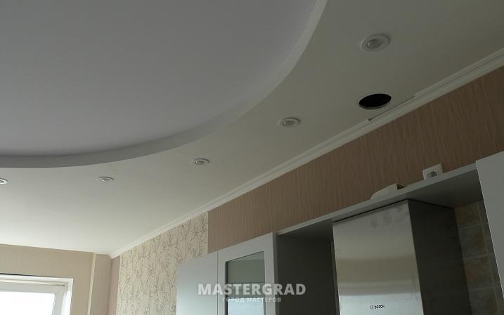 Натяжной потолок перекрывает вентиляцию