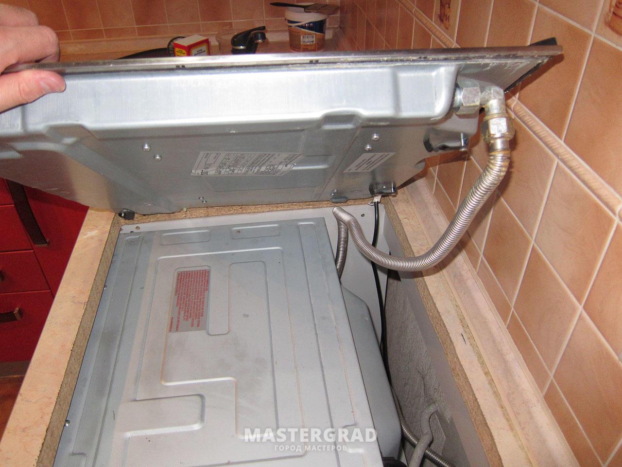Установка газовой варочной панели в столешницу своими руками