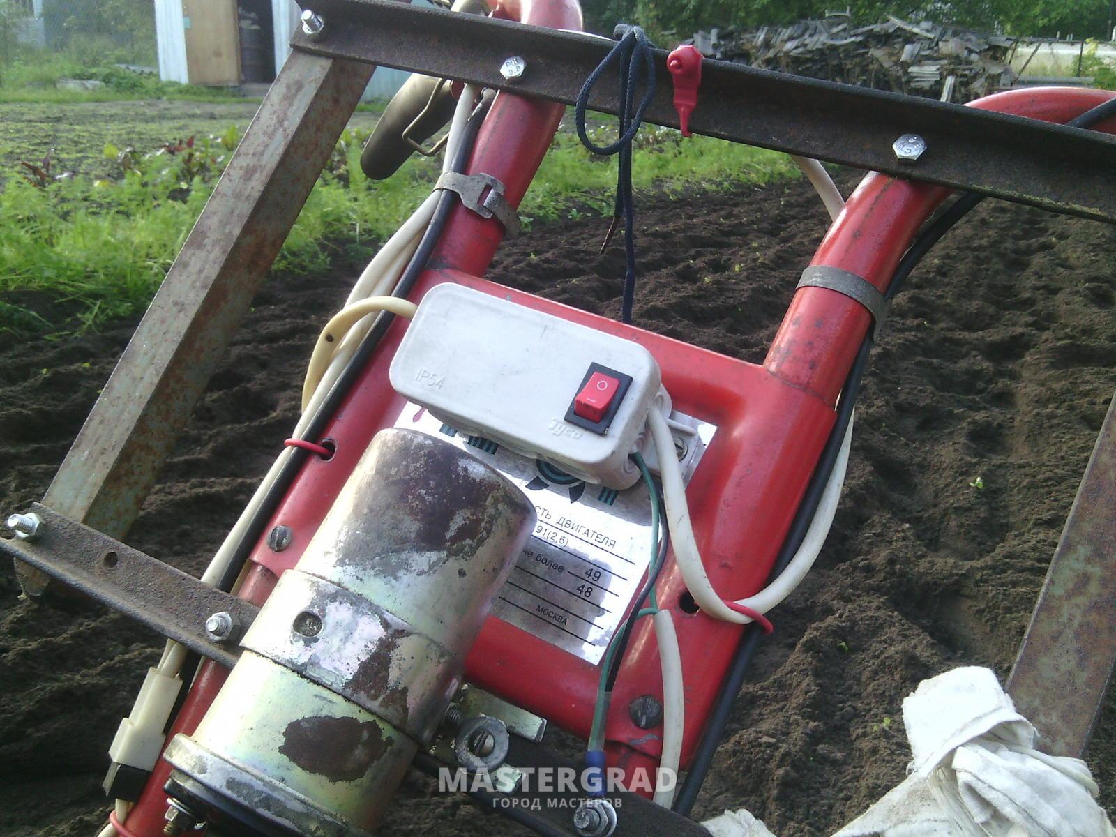 Культиватор Крот бензиновый, инструкция по эксплуатации