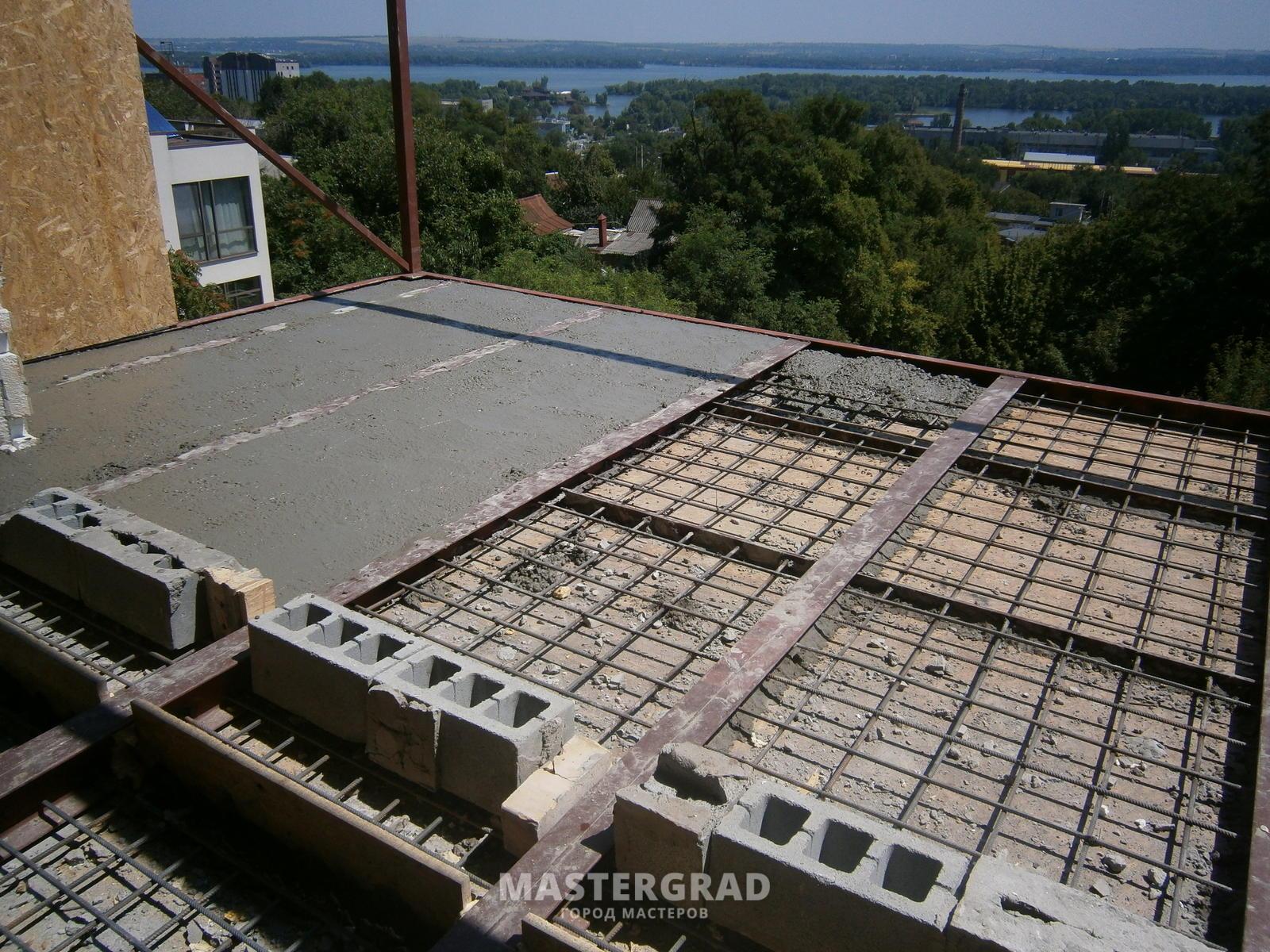 Как сделать балкон из бетона 594