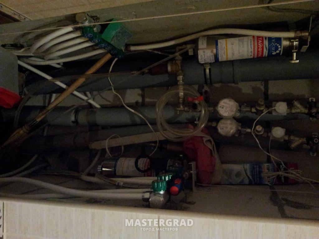 правильная установка редуктора давления воды схема