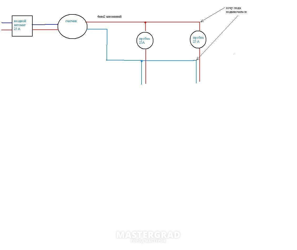 Схема подключения двойного выключателя фото