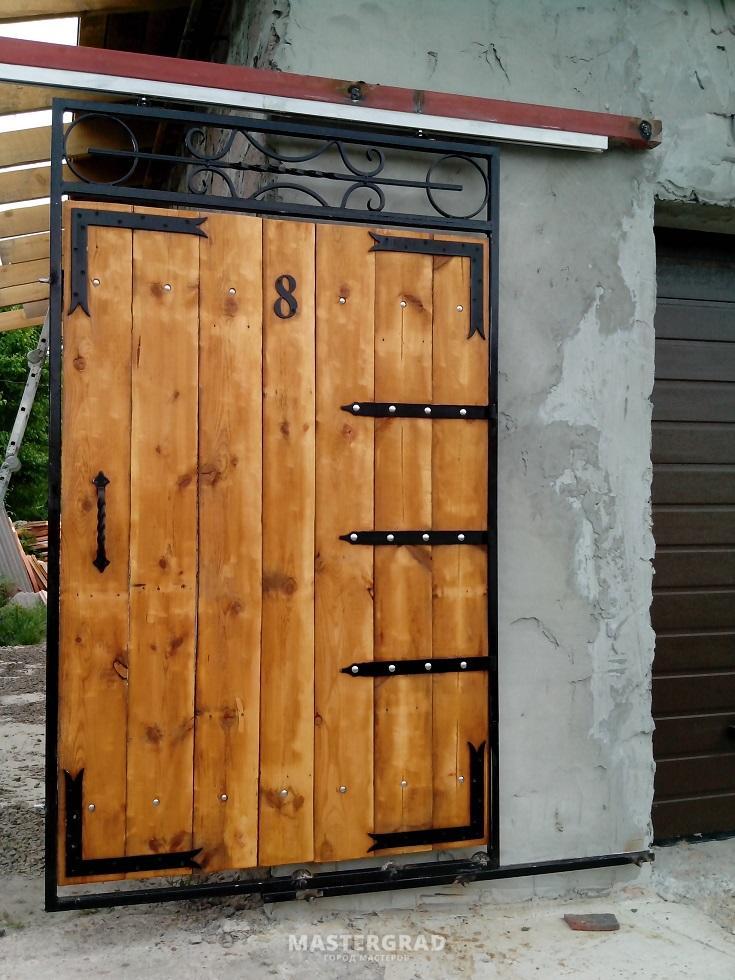 Ворота калитка своими руками фото 91