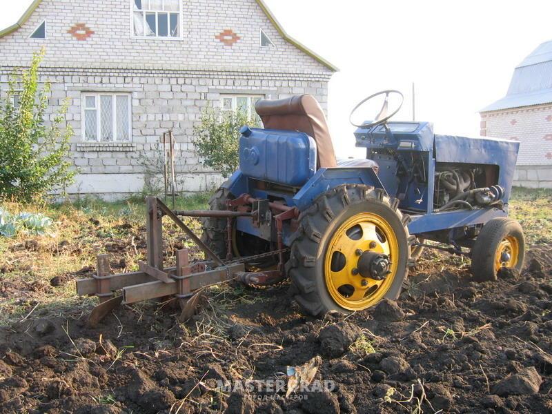Как сделать большой трактор своими руками 82