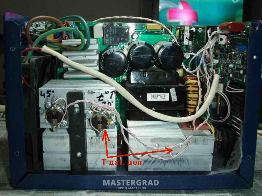 Схема инверторного сварочного аппарата sturm aw97i17n