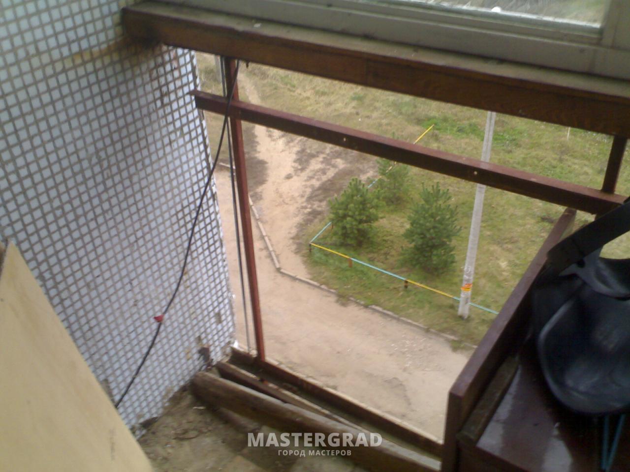 Утепление лоджии-металлический парапет - фото- форум masterg.