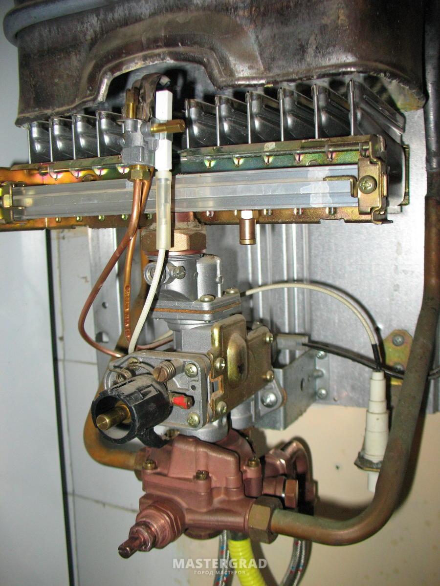 Ремонт водонагревательной колонки своими руками газовой