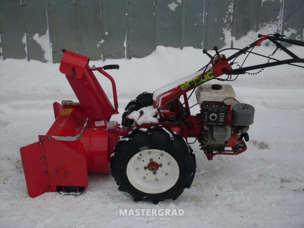 Снегоочиститель мотоблоку своими руками 83