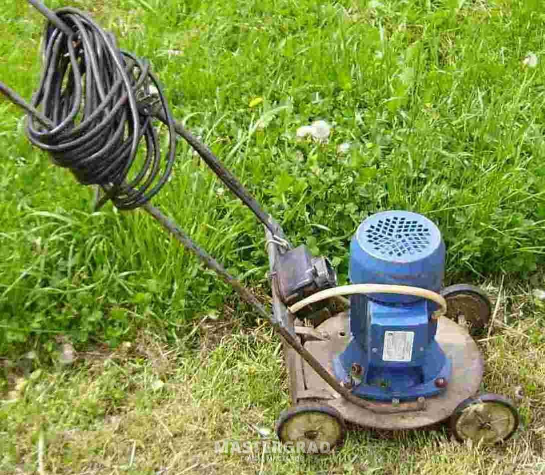 Электрокосилка для высокой травы своими руками 49