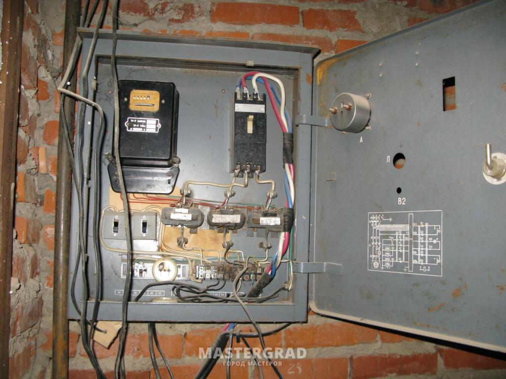 3х фазнаяэлектрическая схема проводки дома