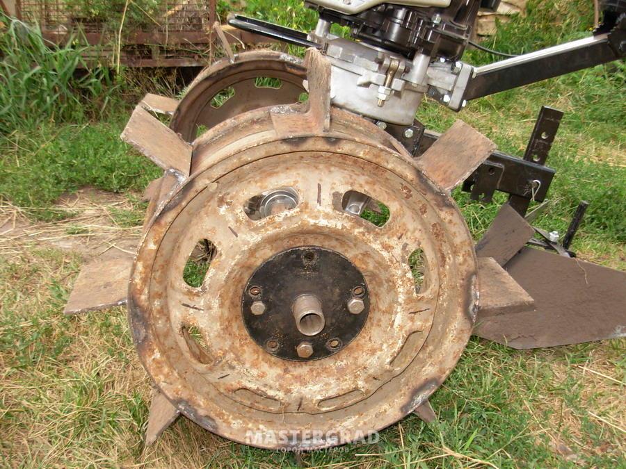 Грунтозацепы к мотоблоку своими руками из дисков 283