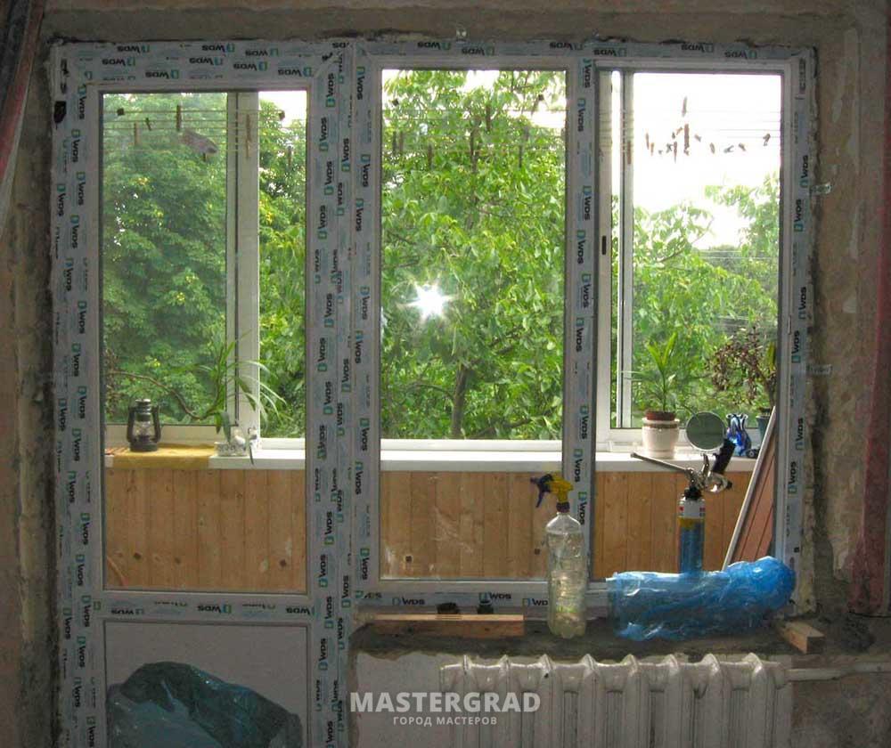 Пластиковое окно для балкона установка своими руками фото 302