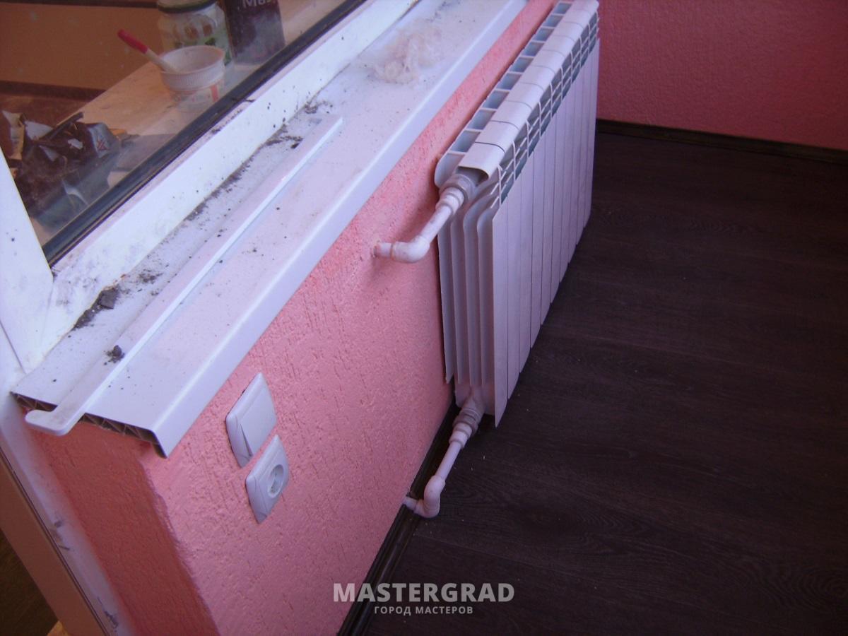 Как сделать перенос батареи на балкон или лоджию: правила, о.