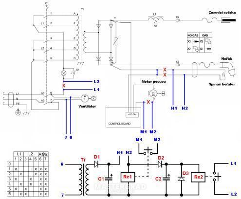 Схема bimax 4.195 turbo