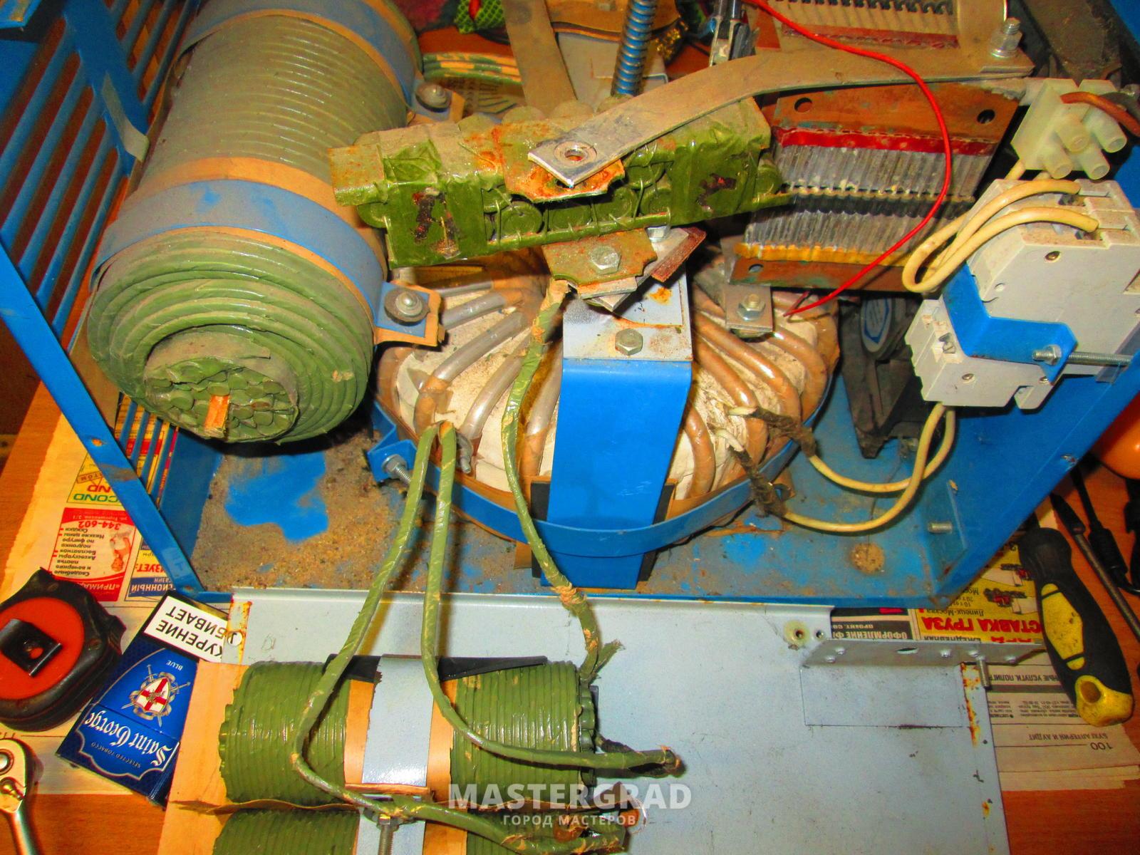электрическая схема дуга-318м проф