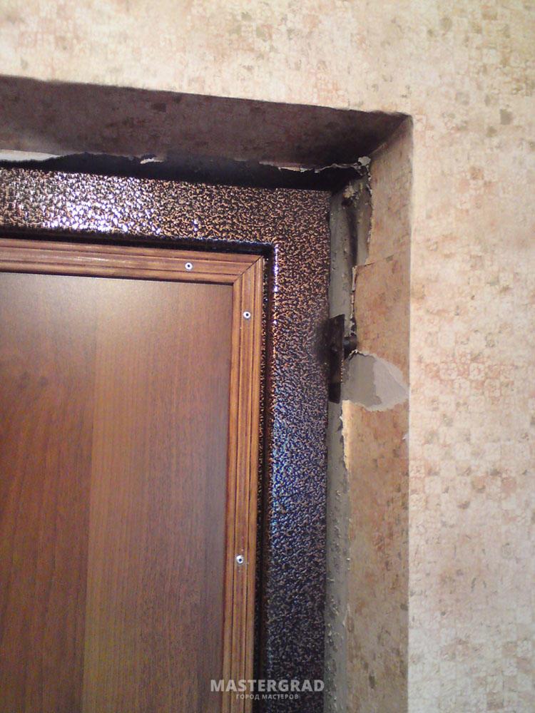 установка моей входной двери