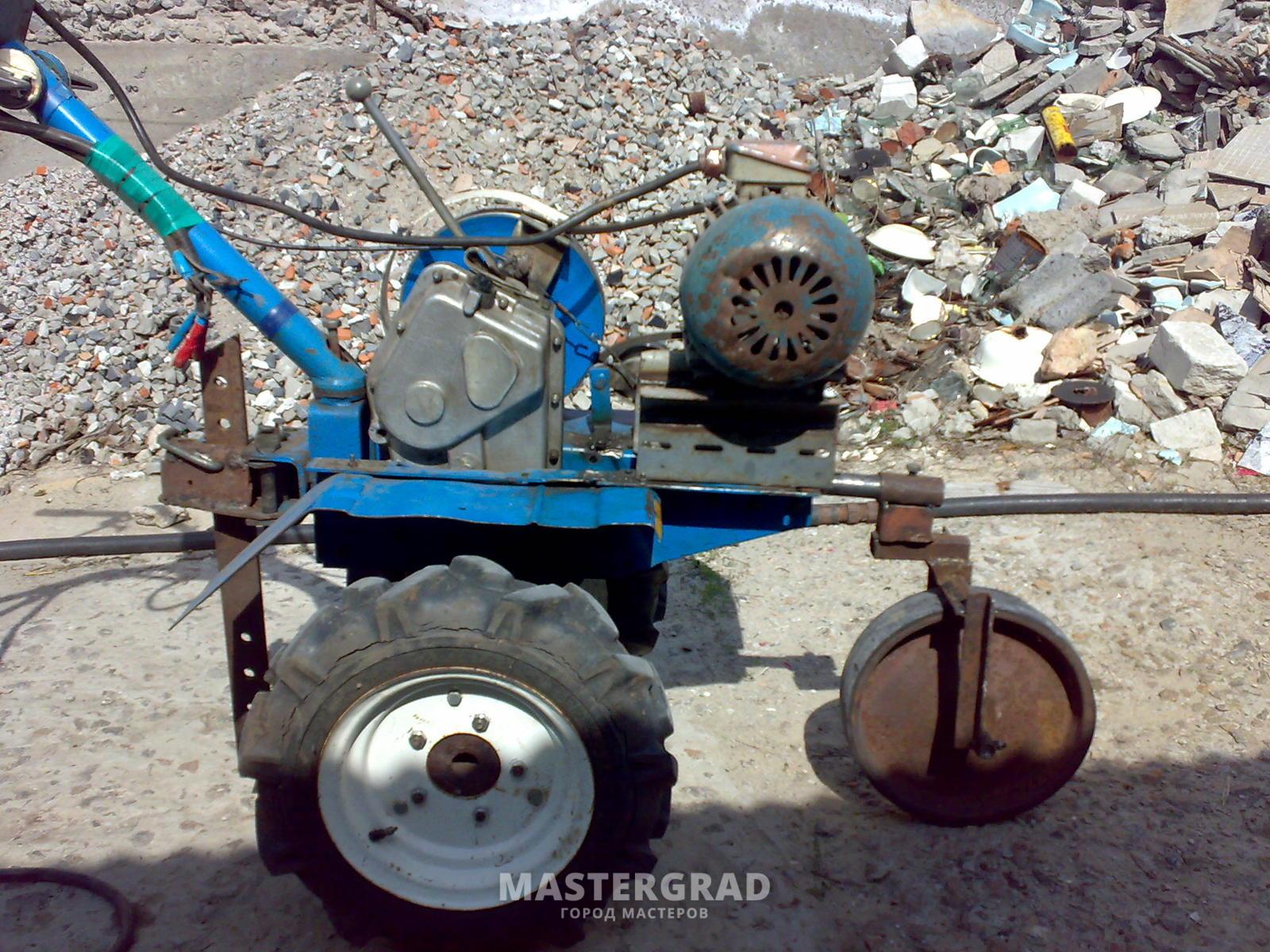 Третье колесо для мотоблока