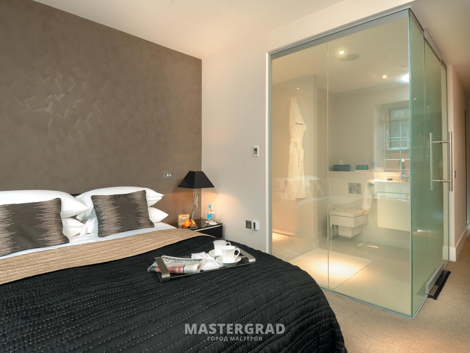 Ванная стеклянная комната Душевой уголок Vegas Glass ZS-F 100*90 07 10 профиль матовый хром, стекло сатин