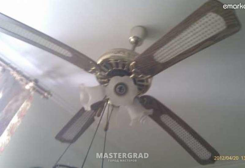 Люстры с вентилятором ремонт своими руками 972