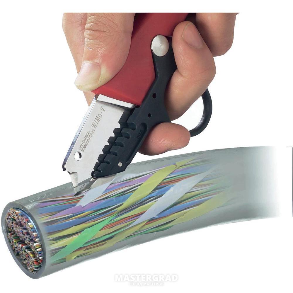 Нож для зачистки кабеля с пяткой своими руками