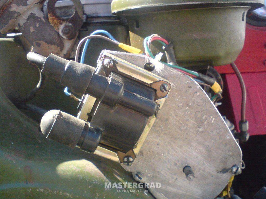 выносная катушка зажигания для бензопилы схема