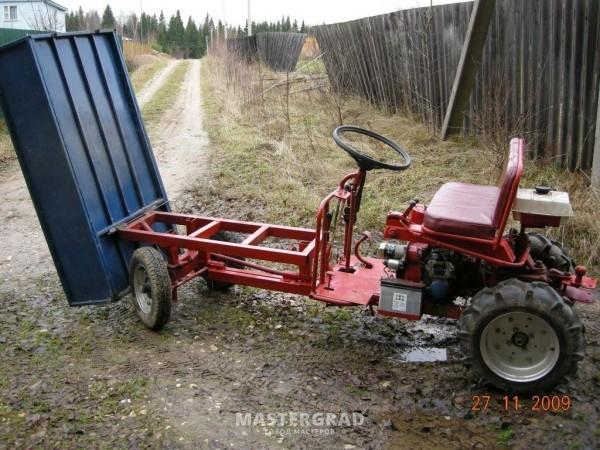 Трактор из мотоблока своими руками агро