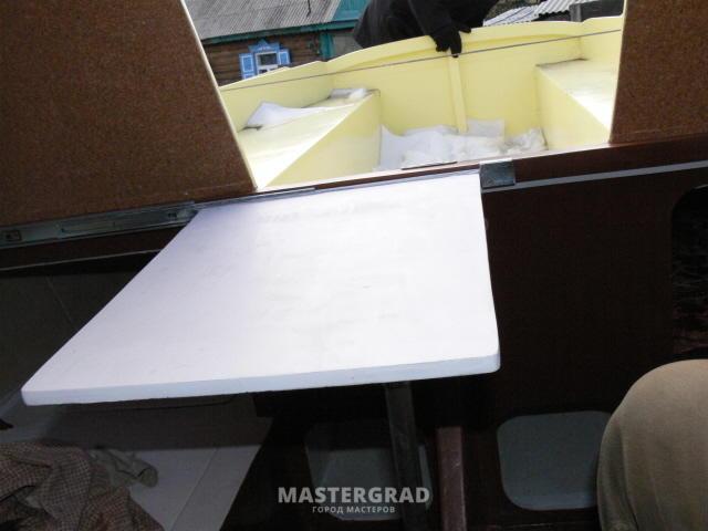Столешница на рельсах стол на опорах из дсп рабочий столешница из мдф пк-пр-ст160х110/д-в1-60