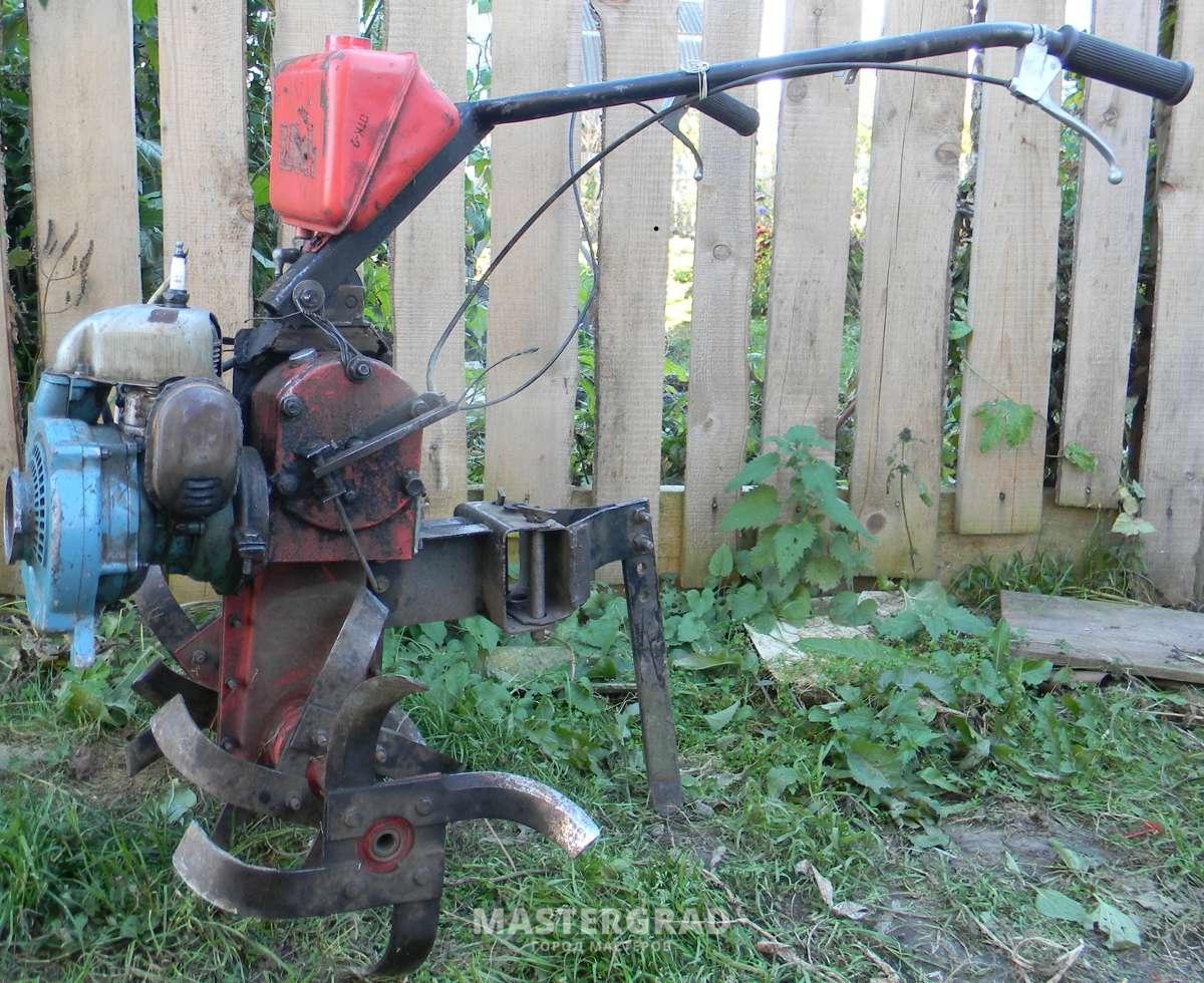 Мотокультиватор из бензопилы своими руками 18