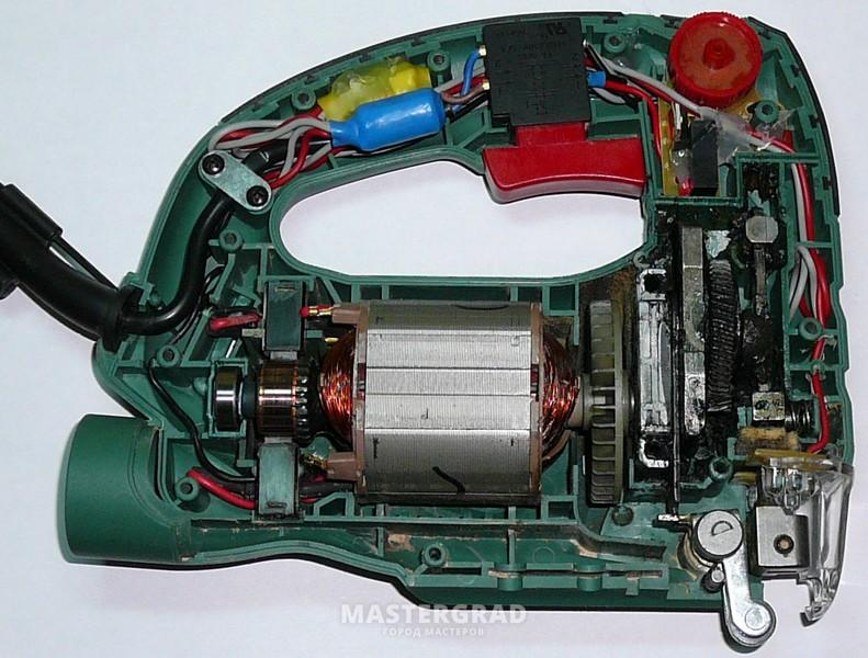 Ремонт электрического лобзика своими руками 13