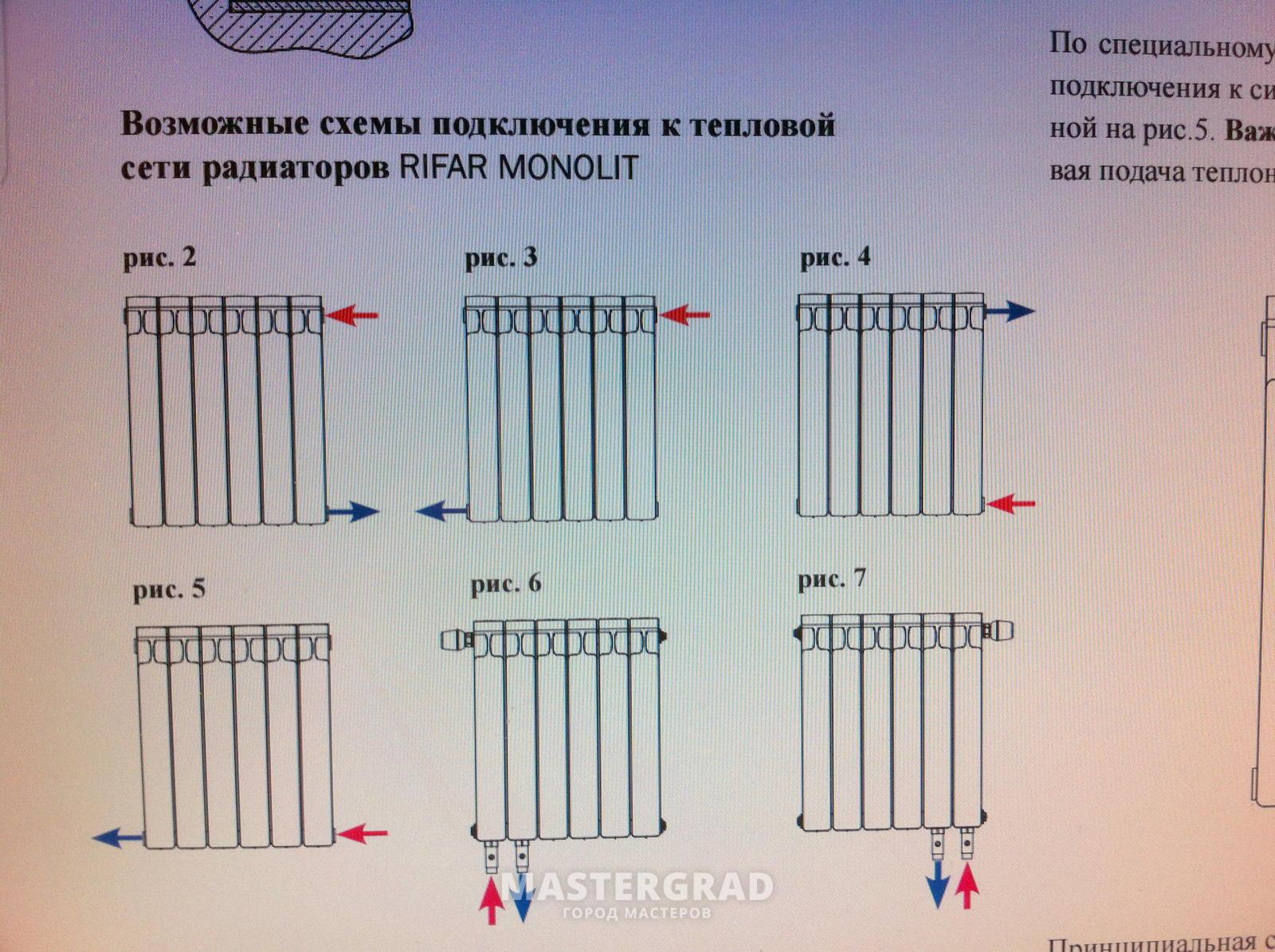 схема подключения конвектора кск