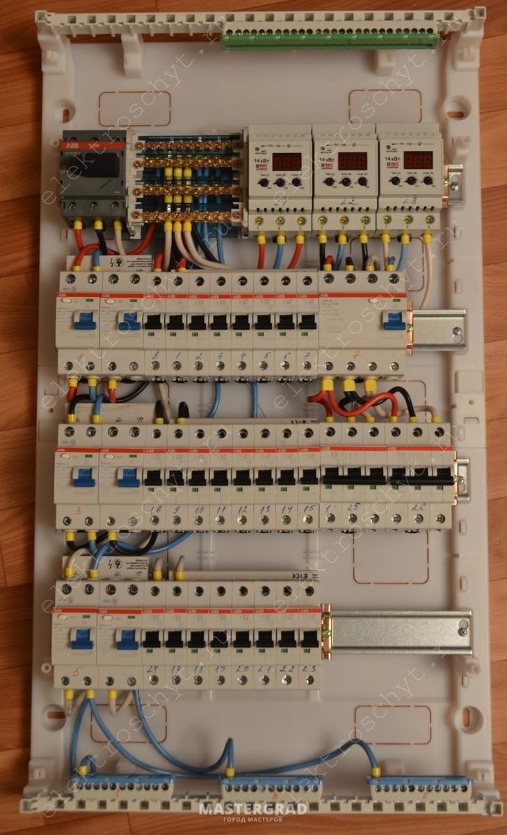 Сборка электрощитка своими руками 380 в фото 24