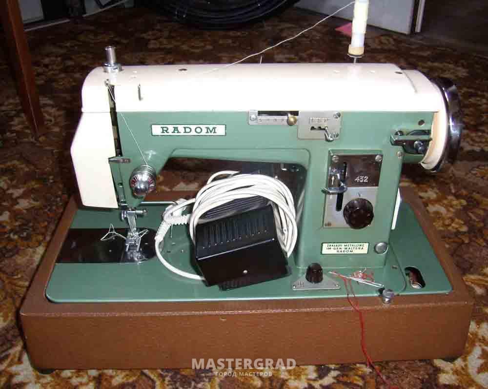 Инструкции по эксплуатации швейных машинок