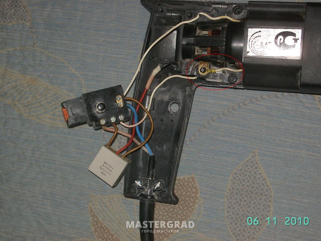 Схема подключения дрели без реверса фото 999