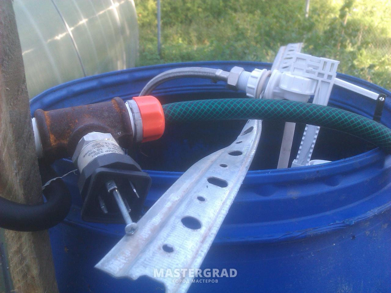 Фильтр очистки воды для капельного полива своими руками 55