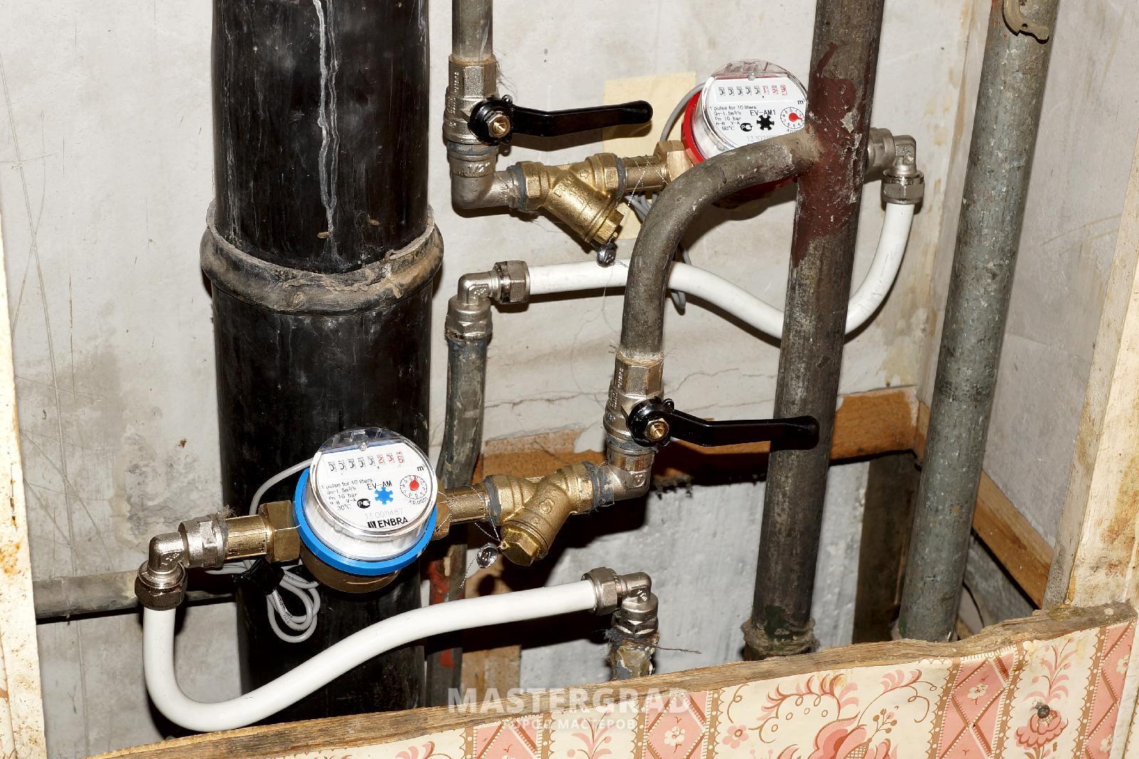 Установка счетчиков воды в квартире или доме самостоятельно 21