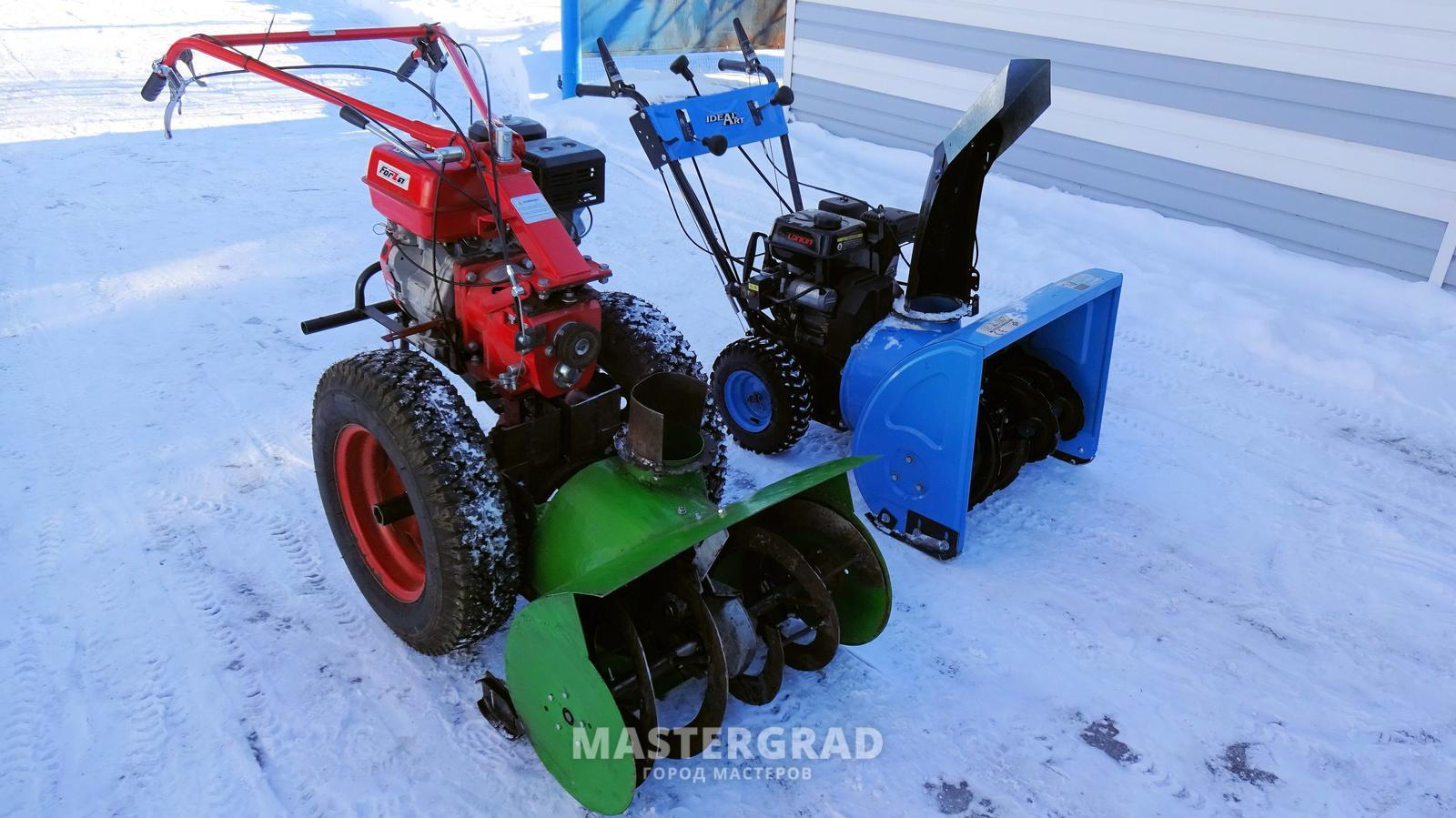 Снегоочиститель мотоблоку своими руками 42