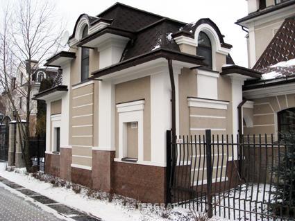 Штукатурка для фасада частного дома