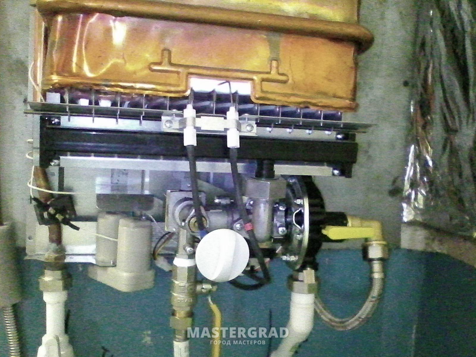Газовая колонка Нева. После первого включения гаснет 56