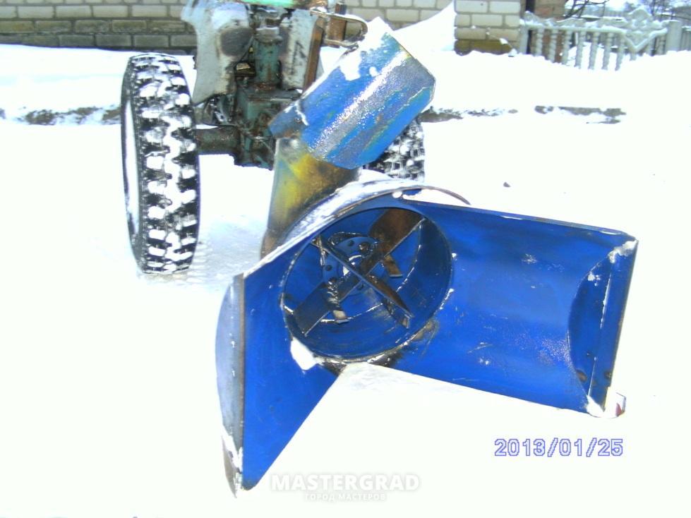 Снегоуборочна мтз своими руками 728